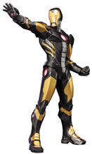 Image: Iron Man ArtFX+ Statue 1/10 Scale Pre-Painted Model Kit   -