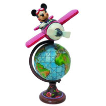 Image: Disney Traditions Figure: Globetrotting Mickey  -