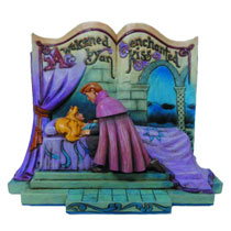 Image: Disney Traditions Storybook Figure: Sleeping Beauty  -