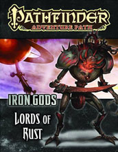 Image: Pathfinder Adventure Path: Iron Gods Part 2 - Lords of Rust SC  -