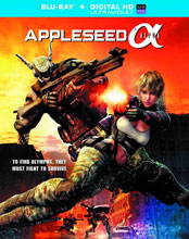 Image: Appleseed Alpha Blu-ray  -
