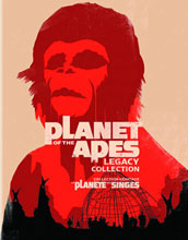 Image: Planet of the Apes: Legacy Collection BluRay  -