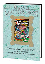Image: Marvel Masterworks Vol. 227: The Sub-Mariner Nos. 50-60 HC  - Marvel Comics