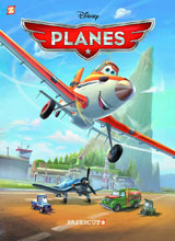 Image: Disney Graphic Novels Vol. 01: Planes - Livin' the Dream SC  - Papercutz