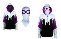 Image: Spider-Gwen Women's Hoodie with Mask  (S) -