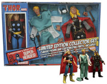 Image: Legendary Marvel Super-Heroes Limited Edition Collector Set: Thor  -