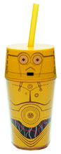 Image: Star Wars Iconic Tumbler: C-3PO  (13-ounce) -