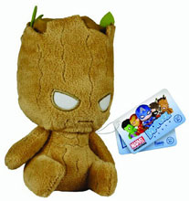 Image: Marvel Mopeez Plush Figure: Groot  -