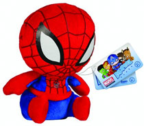 Image: Marvel Mopeez Plush: Spider-Man  -
