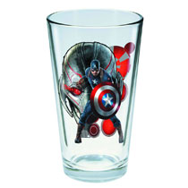 Image: Avengers: Age of Ultron Toon Tumblers Pint Glass - Captain America  -