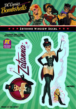 Image: DC Bombshells Window Decal: Zatanna  -
