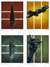 Image: Eve Online: Battlecruiser Art Print Set  -