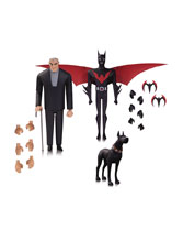Image: Batman Beyond Action Figure Set: Batman and Bruce Wayne  - DC Comics