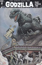 Image: Godzilla: Rage Across Time #2 (incentive cover incentive - Aaron John Gregory) (10-copy)  [2016] - IDW Publishing