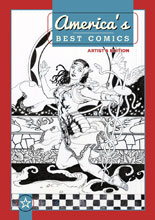 Image: America's Best Comics Artist Edition HC  (J.H. Williams III cover) - IDW Publishing