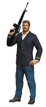 Image: CT Red Walking Dead TV Abraham 7-inch Action Figure Case  - Tmp Toys / Mcfarlane's Toys