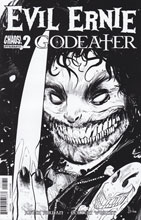 Image: Evil Ernie: Godeater #2 (cover C incentive - B&W) (10-copy)  [2016] - Dynamite
