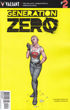 Image: Generation Zero #2 (Guinaldo Character Design incentive cover - 00231) (10-copy)  [2016] - Valiant Entertainment LLC