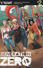 Image: Generation Zero #2 (Henry incentive cover - 00241) (20-copy)  [2016] - Valiant Entertainment LLC