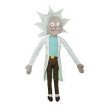 Image: Rick & Morty Plush: Rick  (12-inch) - Jinx Inc