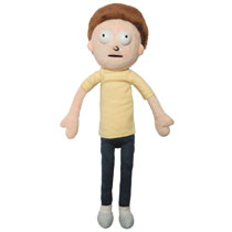 Image: Rick & Morty Plush: Morty  (10-inch) - Jinx Inc
