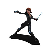 Image: Avengers: Age of Ultron Metal Miniature Figure - Black Widow  - Factory Entertainment