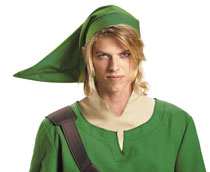Image: Legend of Zelda Link Hat  (Adult) - Disguise Inc