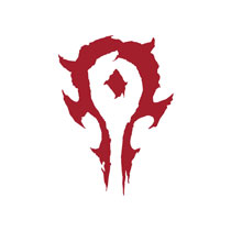 Image: Warcraft Vinyl Decal: Horde Logo  - Jinx Inc