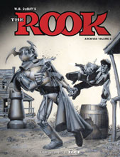 Image: WB Dubay's the Rook Archives Vol. 03 HC  - Dark Horse Comics