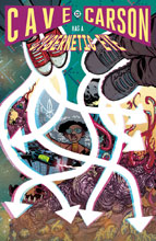 Image: Cave Carson Has a Cybernetic Eye #12 - DC Comics