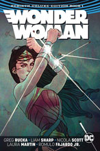 Image: Wonder Woman Rebirth Deluxe Edition Vol. 01 HC  - DC Comics