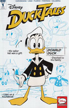 Image: Ducktales #1 (Character Design retailer incentive cover A - 00131) (10-copy)  [2017] - IDW Publishing