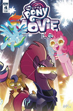 Image: My Little Pony Movie Prequel #4 (cover B - Fleecs) - IDW Publishing