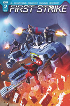 Image: First Strike #3 (cover C - Ronald) - IDW Publishing