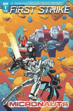 Image: Micronauts: First Strike #1 (cover A - Daniel) - IDW Publishing