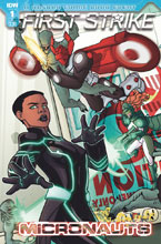 Image: Micronauts: First Strike #1 (cover B - Panda) - IDW Publishing