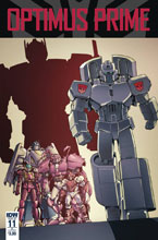 Image: Optimus Prime #11 (cover B - Coller) - IDW Publishing