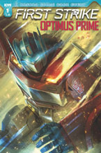 Image: Optimus Prime: First Strike #1 (cover A - Pitre-Durocher) - IDW Publishing