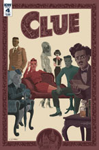 Image: Clue #4 (cover A - Caltsoudas) - IDW Publishing