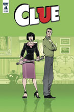 Image: Clue #4 (cover B - Daniel) - IDW Publishing