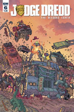 Image: Judge Dredd: Blessed Earth #6 (cover A - Farinas) - IDW Publishing