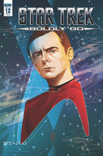 Image: Star Trek: Boldly Go #12 (cover A - Caltsoudas) - IDW Publishing