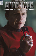 Image: Star Trek: Boldly Go #12 (Photo incentive cover - 01231) (10-copy) - IDW Publishing