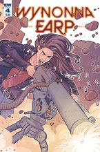 Image: Wynonna Earp: Season Zero #4 (cover A - Evenhuis) - IDW Publishing
