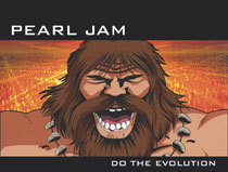 Image: Pearl Jam: Art of Do the Evolution HC  - IDW Publishing