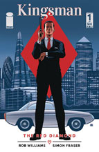 Image: Kingsman: Red Diamond #1 (cover C - Gibbons) - Image Comics
