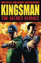 Image: Secret Service: Kingsman SC  (cover A - Gibbons) - Image Comics