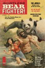 Image: Shirtless Bear-Fighter! #4 (cover B - Rivera) - Image Comics