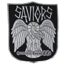 Image: Walking Dead Faction Patch: Saviors  (4-inch) - Image Comics