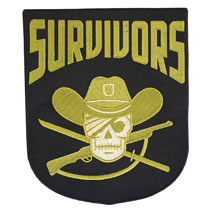 Image: Walking Dead Faction Patch: Survivors  (4-inch) - Image Comics